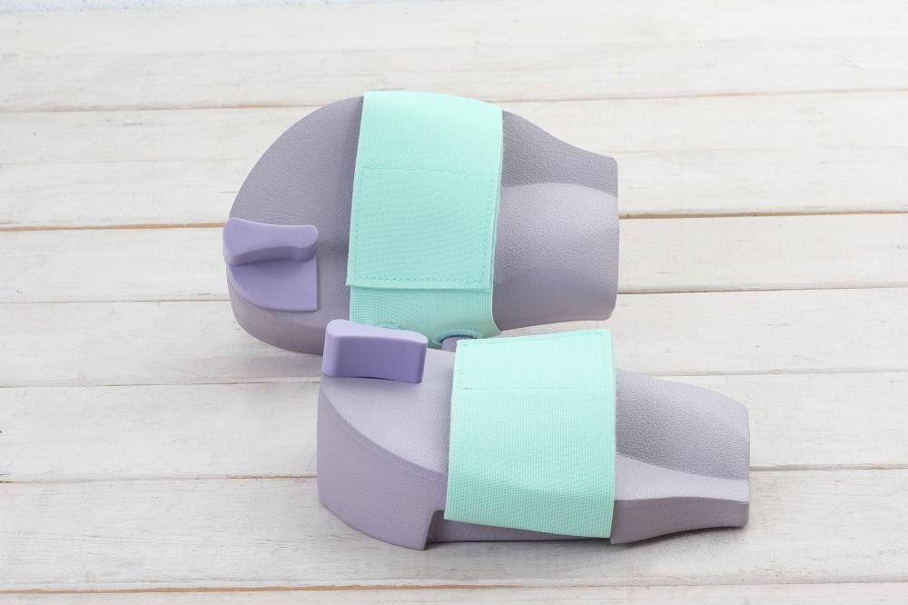 ミオドレ式美人足サンダルの形状を説明
